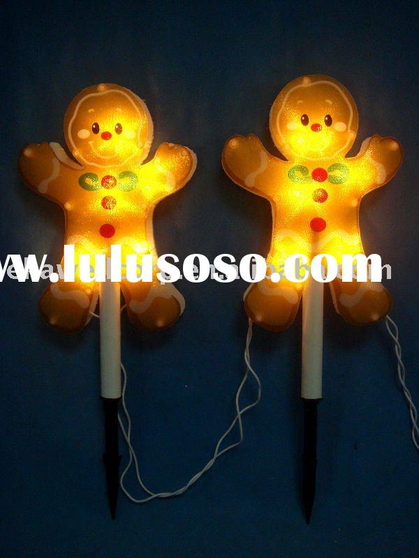 2 Sauce bread peoples path lights Christmas decoration