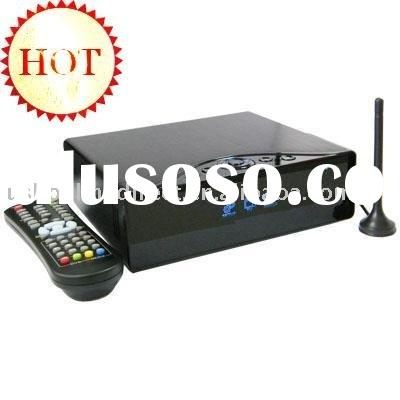 3.5 HDMI HDD media player support high definition video playback support DVB-T receiver and REC