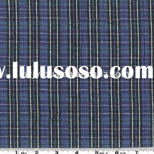 40s yarn dyed T/C fabric for shirt or garment