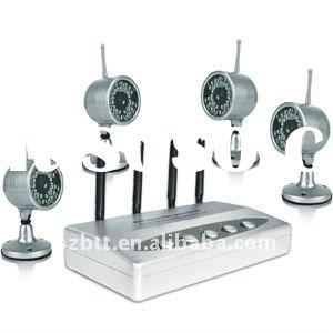 4 Channel Wireless Usb Network DVR Camera Kit factory