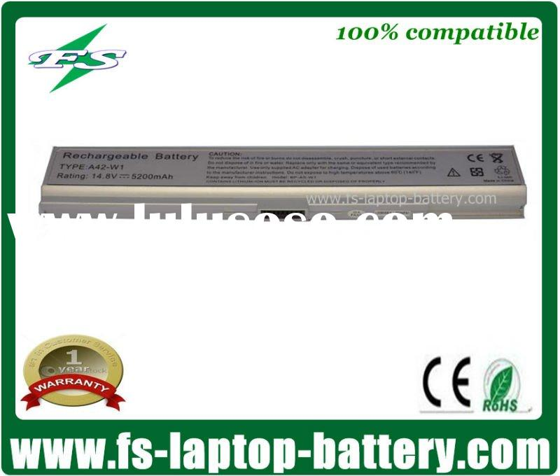 5200mAh 8 Cells A42-W1 Genuine Notebook Battery For Asus W1 W1NA W1000Na Series