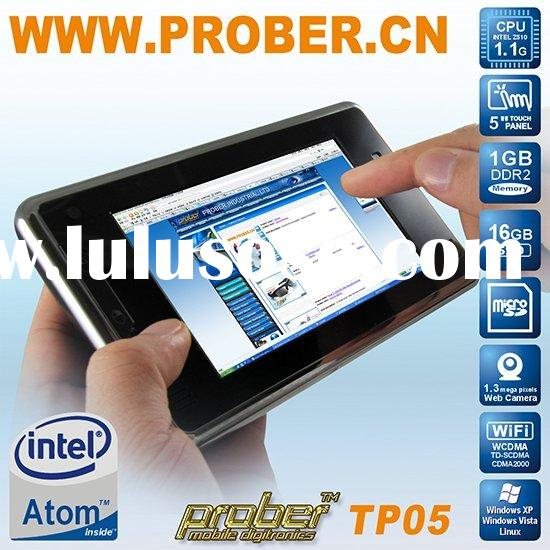 "5"" touch screen lcd laptop, small laptop, mini laptop support Windows XP, Vista, Linux"