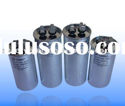 60MF 440VAC CBB65 Run Capacitor Metal Round Case for Air Condition Capasitor Electric Motor Running