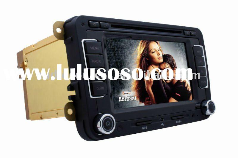 "6.5"" HD TFT digital touch screen car audio radio with BT,DVB-T,RADIO,RDS,IPONE,TMC"