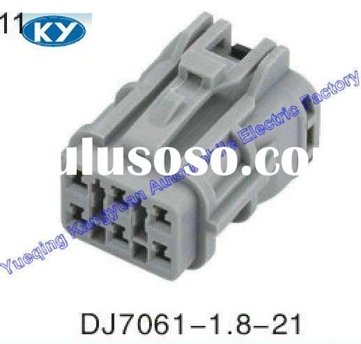 6 pin male female plastic cable connectors