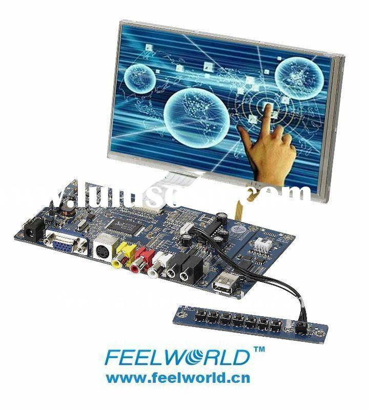 7 inch Digital Touch LCD Module with USB Touch Driver+LED Backlight