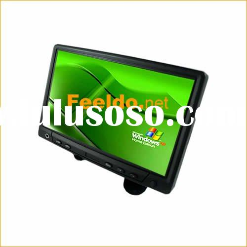 7 inches Headrest /desktop TFT-LCD monitor touch screen for car PC (#1353)