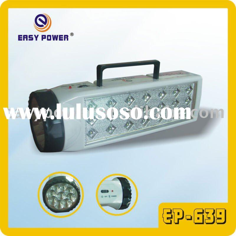 9+21 PCS LED Rechargeable Torch (EP-639)