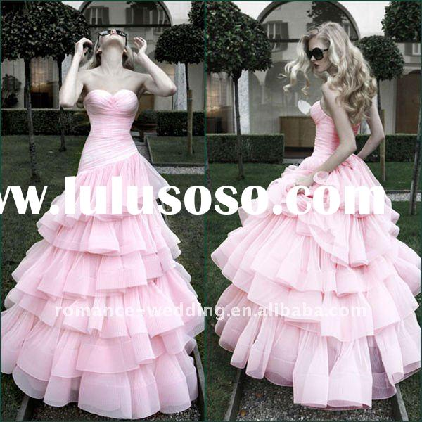 AM0179 Top Quality Affordable Formal Christmas Wedding Ball Gown