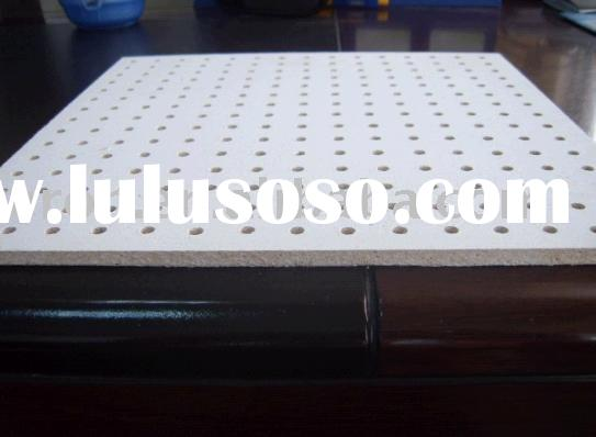Acoustic perforated panel