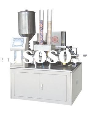 Automatic Filling and Sealing Machine for Paper and Plastic Cup