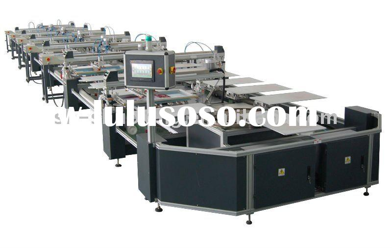 Automatic small t shirt screen printing machine for for Screen printing machine for t shirts for sale