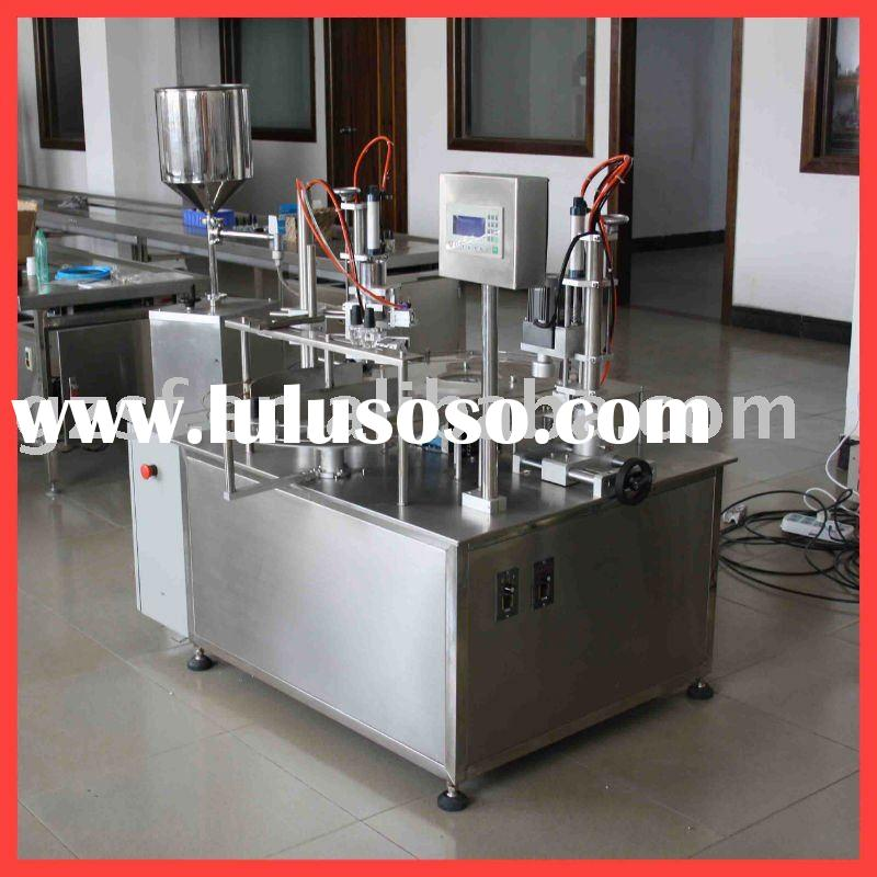 Automatic filling capping machine