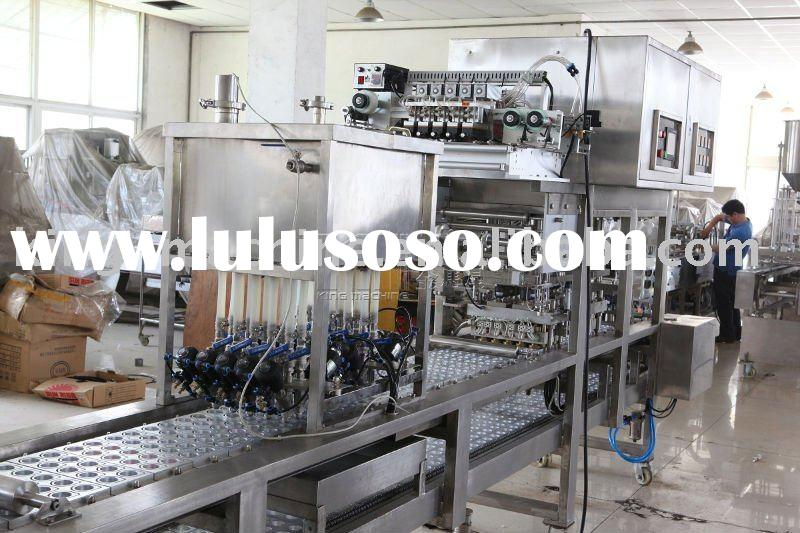 Automatic plastic cup forming filling machine