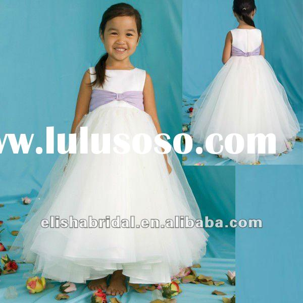 Ball Gown Sleeveless Tulle Flower Girl Dress Patterns