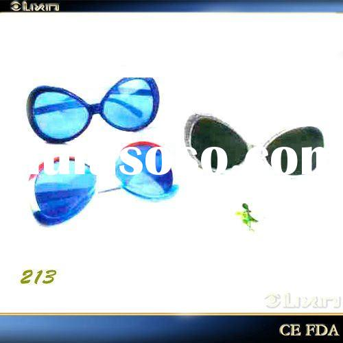 Best selling!!! Newest-design multi-color party glasses, fashion sunglasses, party decoration, PC le