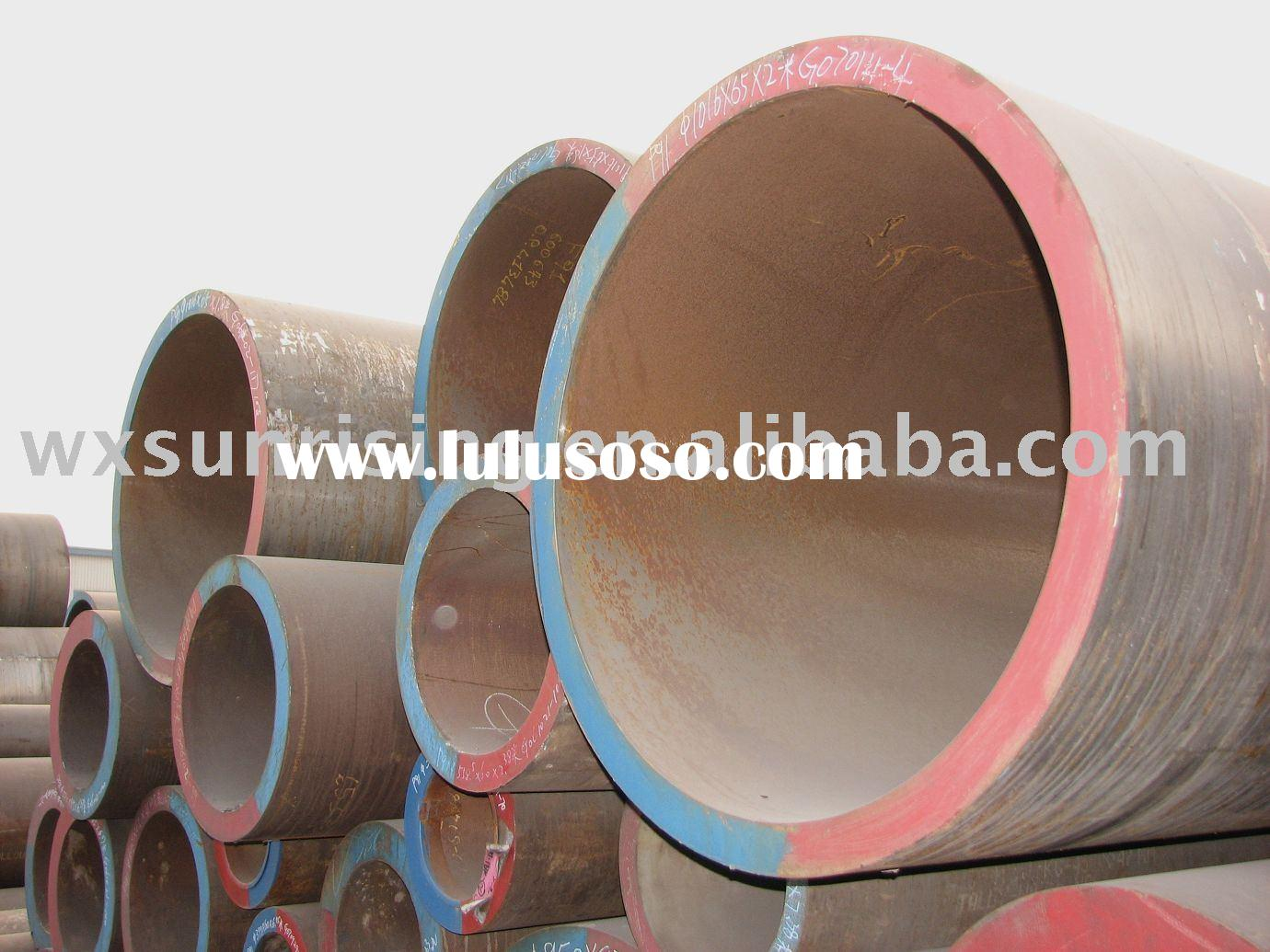 Big / Large outside diameter seamless steel pipes and tubes