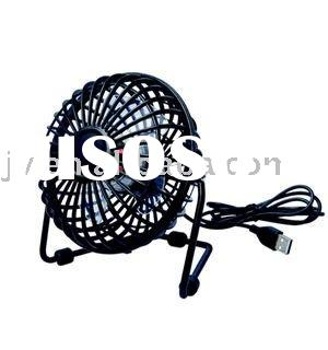 Black Desk Laptop Computer USB Fan