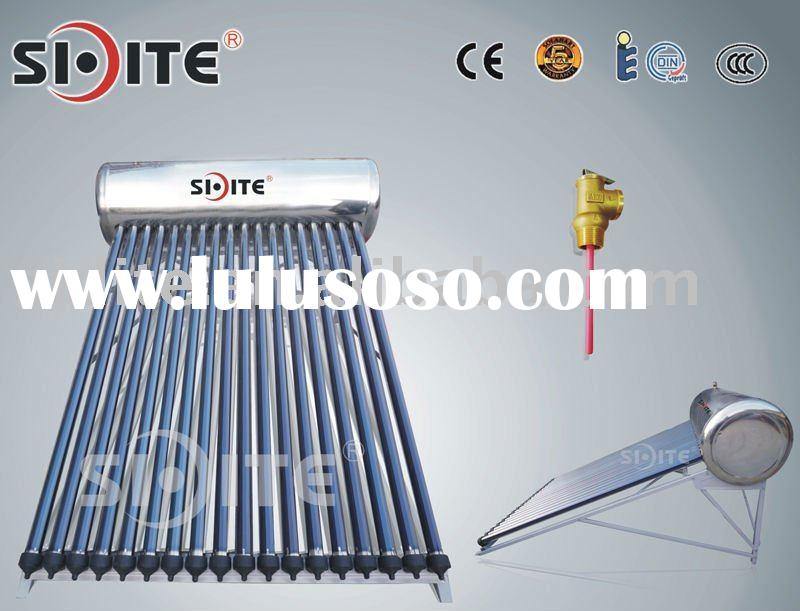 CE integrative pressure solar water heater