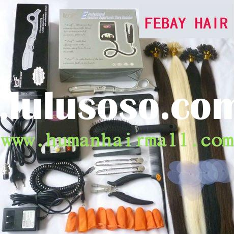 COLD FUSION KERATIN KIT hair extensioin tools without hair
