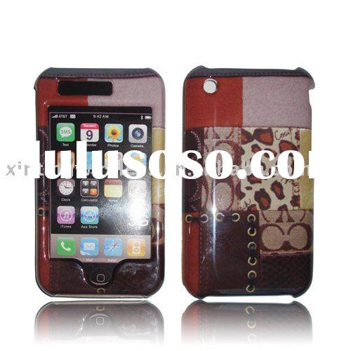 Cell phone Crystal case design for iphone 3G 3GS