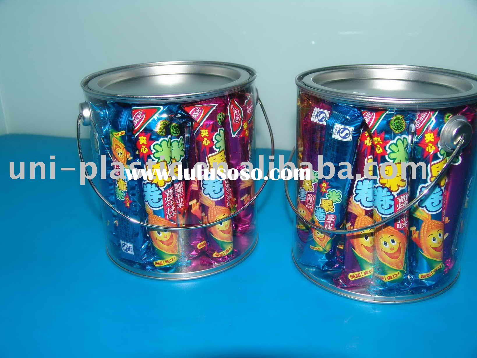 Clear Bucket,PVC Bucket,Candy Bucket,Clear Pails,PVC Pails