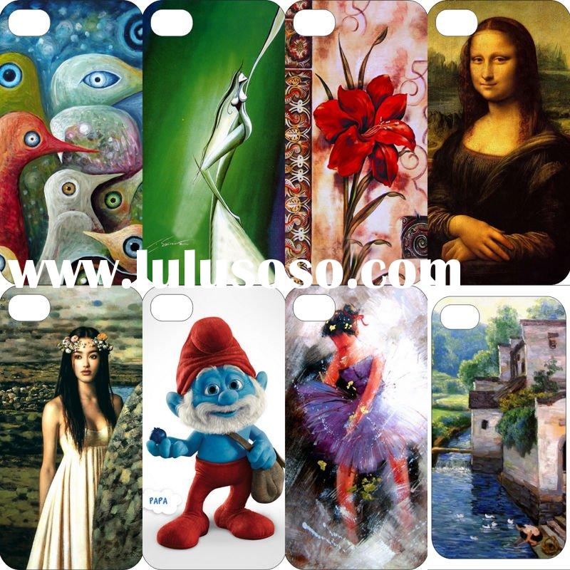 Colored Painting Design Mobile Phone Case for iPhone