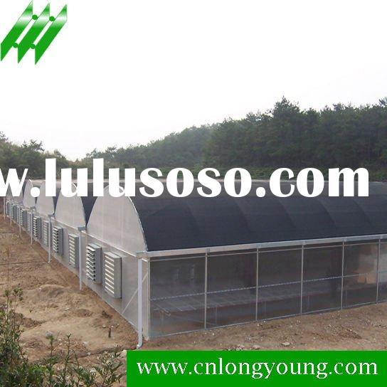 Commercial Greenhouse with Cooling System
