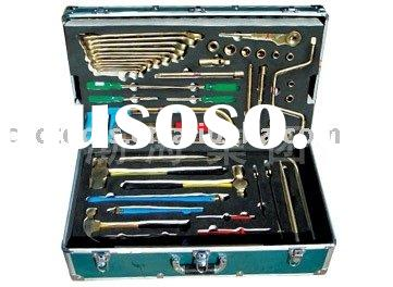 Copper alloy Tool Set For Overhauling , Hardware hand tools,non sparking safety tools
