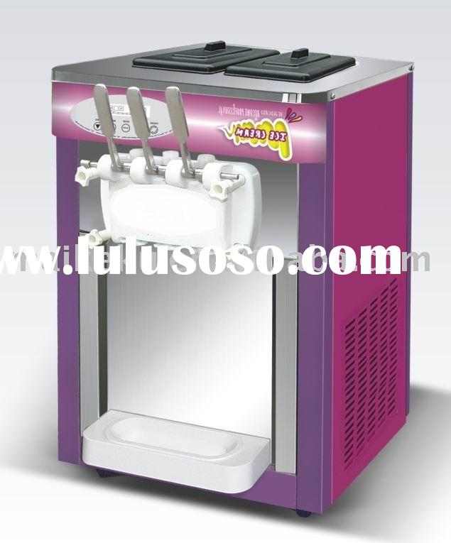Counter model soft ice cream machine small size, easy carried