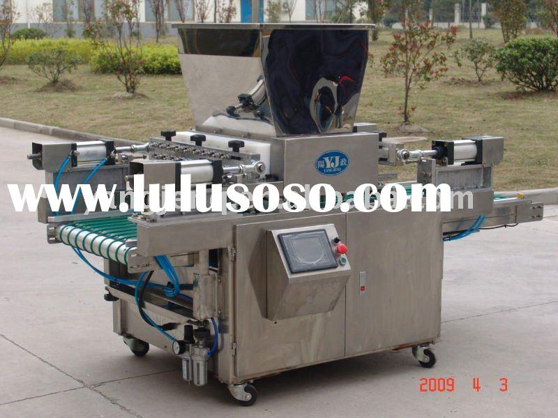 Cup cake food processing machine