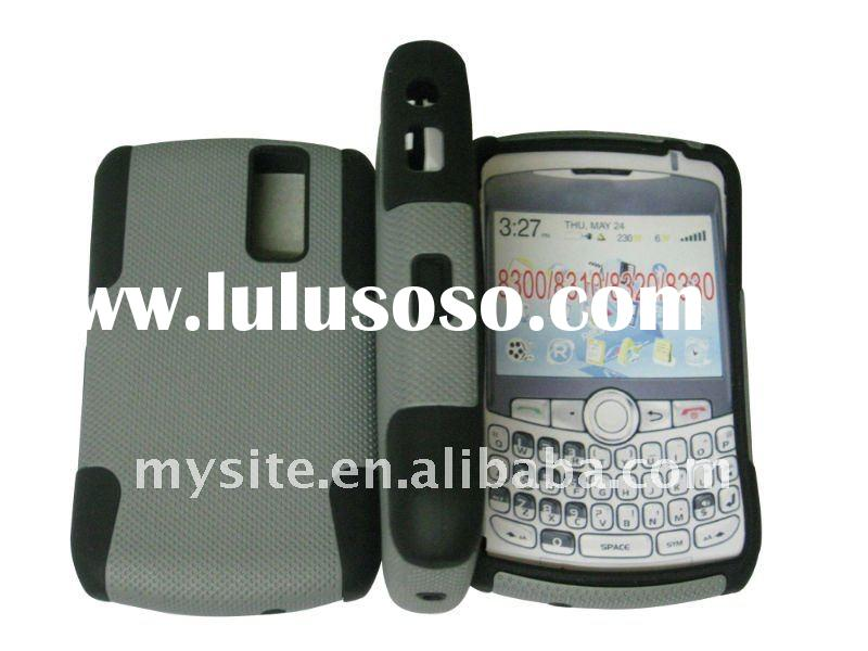 Custom Best Personalized Cell Phone Silicon+PC Hybrid Case Covers for BlackBerry 8300/8310/8320/8330