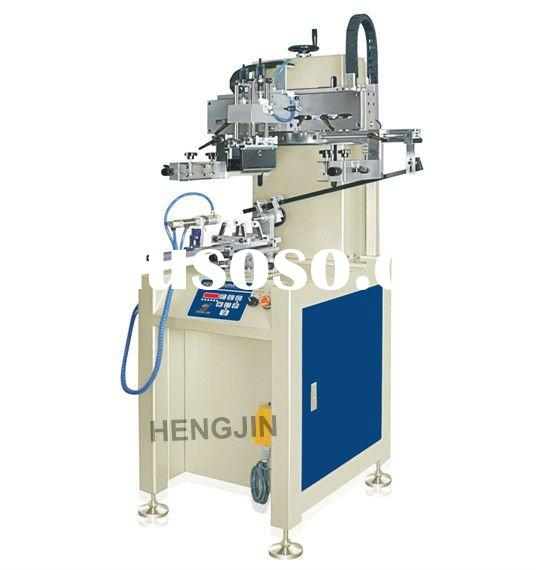 Cylindrical automatic bottle and cup silk screen printer