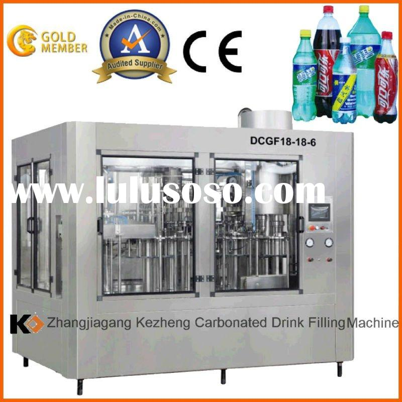 DCGF Automatic PET Bottled Carbonated Water Filling Machie 3 in 1 mono-bloc(CE certificate)