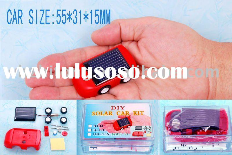 DIY solar car toy---solar cell car-educational toy