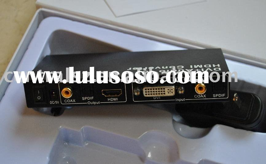 DVI with audio to HDMI Converter