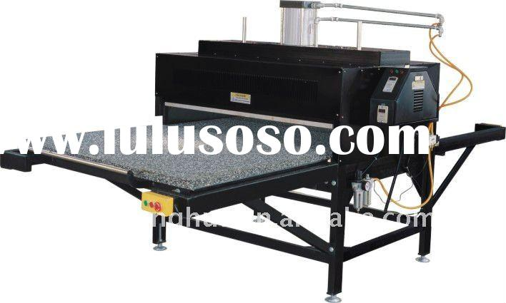 Digital large format double station sublimation heat transfer machine