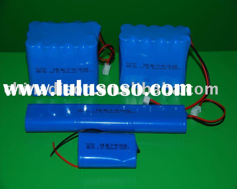 Dison High Voltage Lithium ion Rechargeable Battery Packs