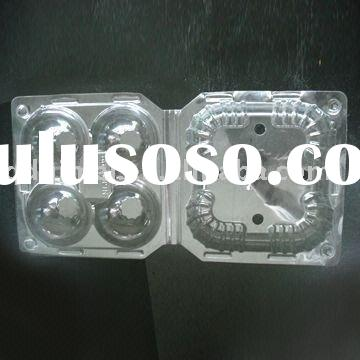 Disposable Biodegradable Blister Clear PP Cornstarch Plastic No-harm Non-toxic Clamshell Tasteless C