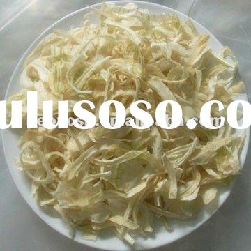 Dried white onion slice