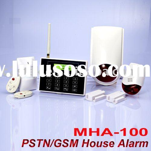 Dual Network Wireless Home Alarm system