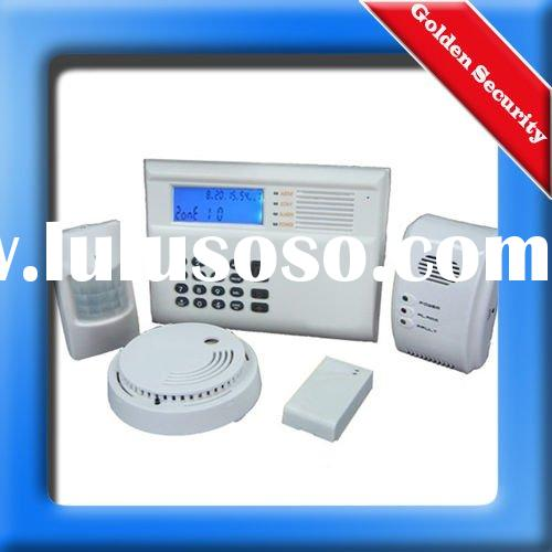 Dual network PSTN/GSM Wireless Home Alarm System With Color LCD Display and Voice Prompt
