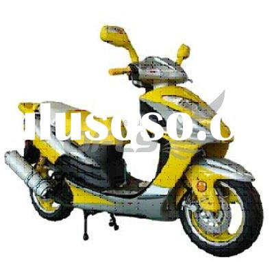 EEC/EPA DOT Approved Gas Motor Scooter Equipped with 4 Stoke 150cc Engine MS1526EEC/EPA