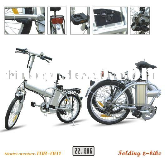 Electric Folding Bicycle(Lithium Battery Foldable)