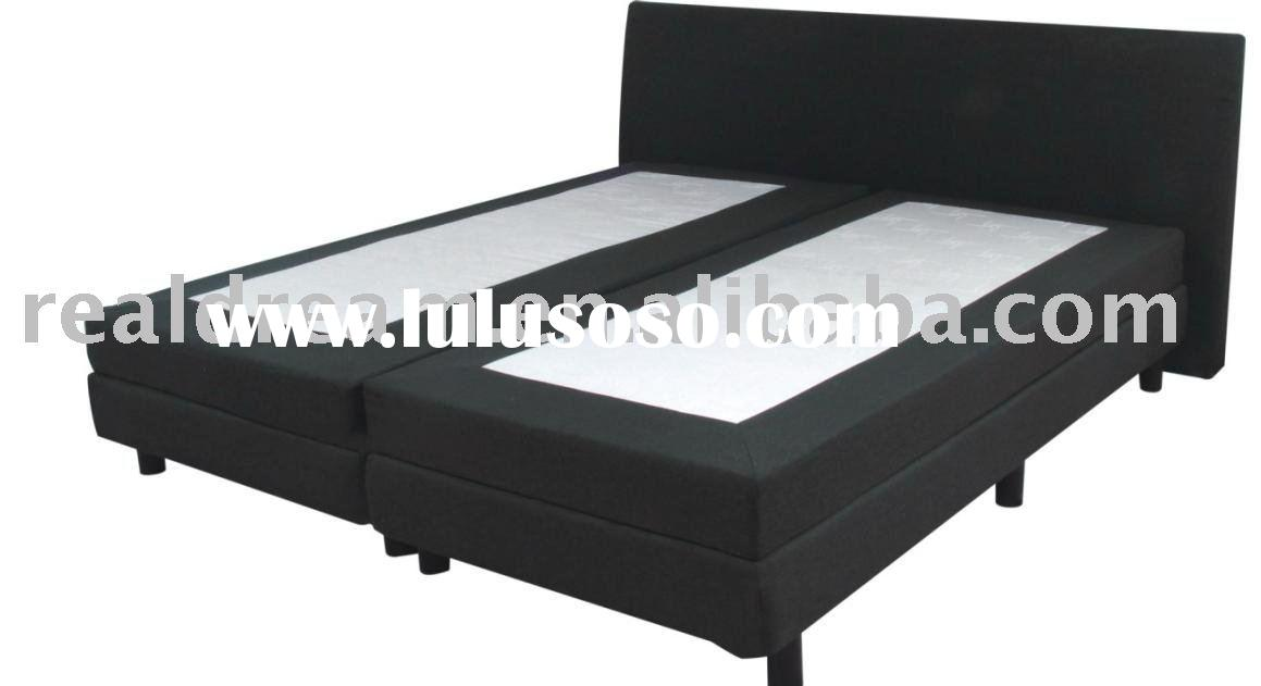 Electric box spring bed