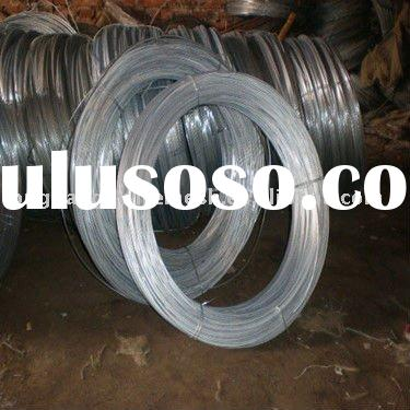 Electro Galvanized Zinc Plated Low Carbon Steel Wire