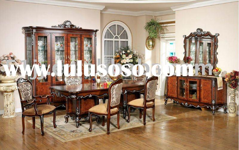 European style dining room furniture/dining table chair/ WLL-7783B