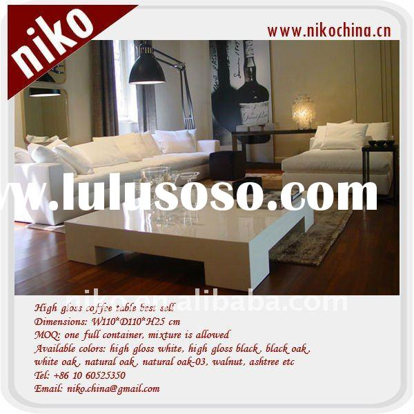 European style high gloss coffee table best seller