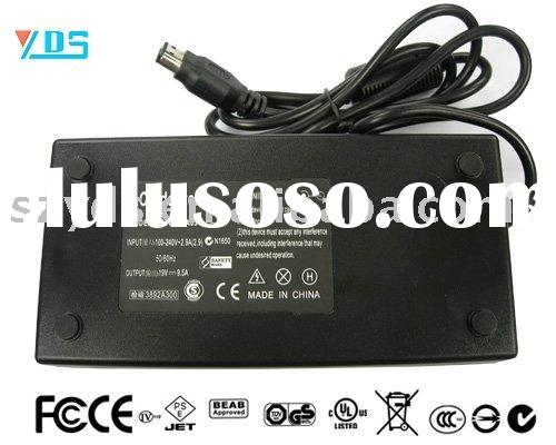 FOR HP/COMPAQ ZD8000 X6000 NX9600 Notebook power adapter(19V 9.5A 180W,165*80*40mm)