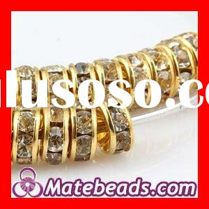 Fashion Jewelry Accessories,Basketball Wives Crystal Spacer Beads